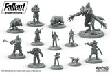 Fallout: Wasteland Warfare 2 player starter set miniatures
