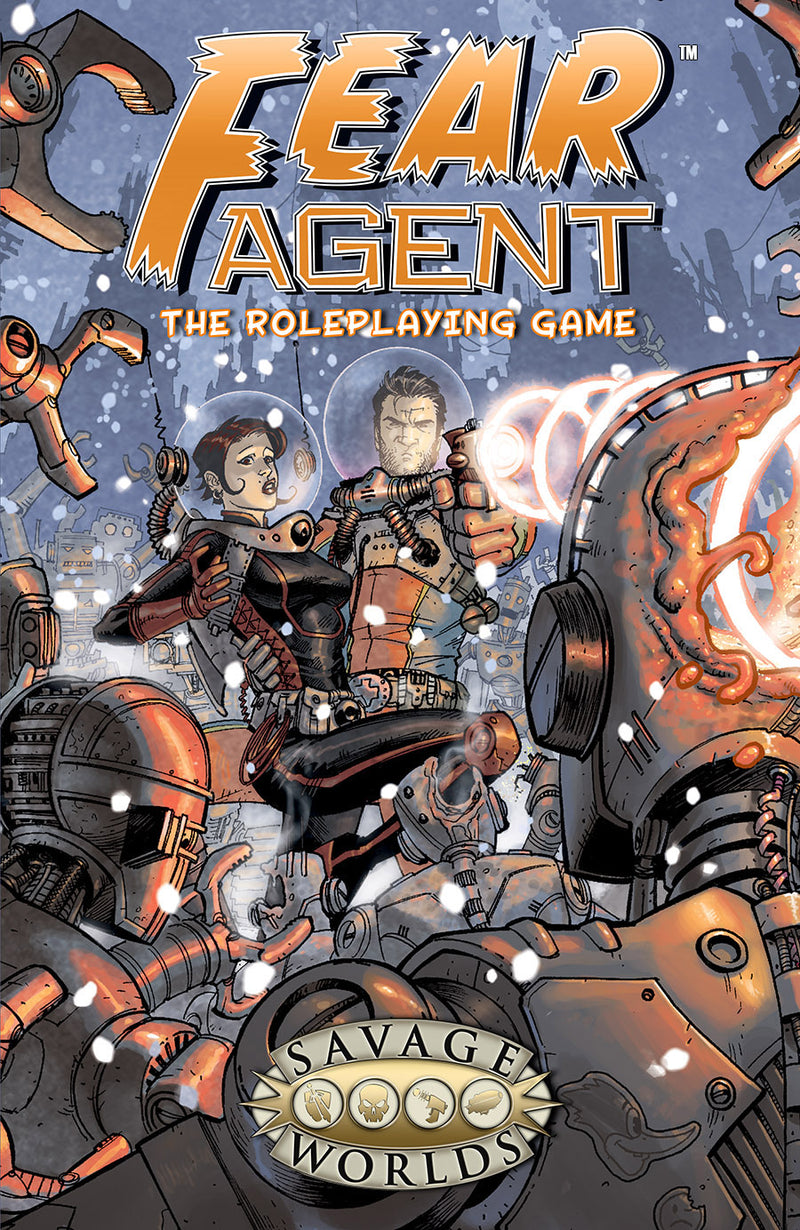 Fear Agent Savage Worlds softcover rulebook