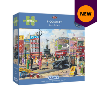 Piccadilly 250XL pieces gibsons jigsaw puzzle