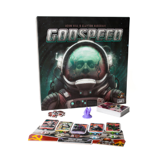 Godspeed new board game box