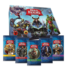 Hero Realms core game character packs set