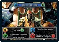 Hero Realms Tibus Guild Lord Co-Op challenge card