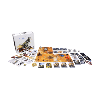 Horizon Zero Dawn: The Board Game contents
