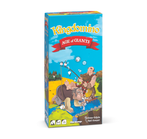 Kingdomino Age of Giants board game box