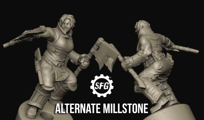 Limited Edition Millstone Alternate Sculpt