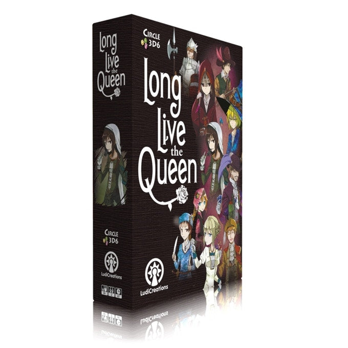 long live the queen two player 2 player card game import kickstarter