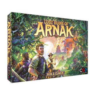 Lost Ruins of Arnak board game box