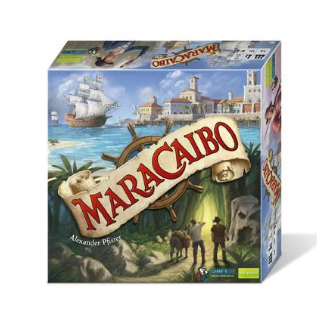 Maracaibo Board Game box