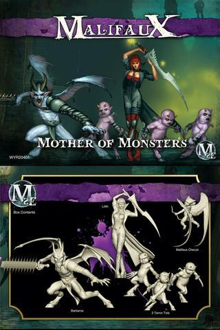 Mother of Monsters Malifaux 2E crew box Lilith master