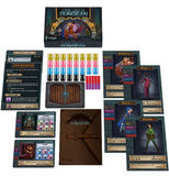 ne Deck Dungeon Kickstarter dungeon crawl fantasy card dice board game components setup