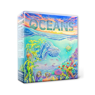 Oceans board game main box