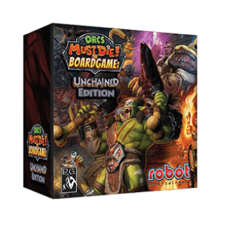 Ocrs Must Die Unchained Edition board game