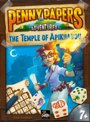 Penny Papers Adventures Temple of Apikhabou