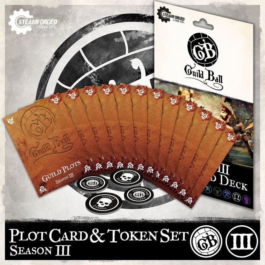 Guild Ball Season 3 Plot Card Deck
