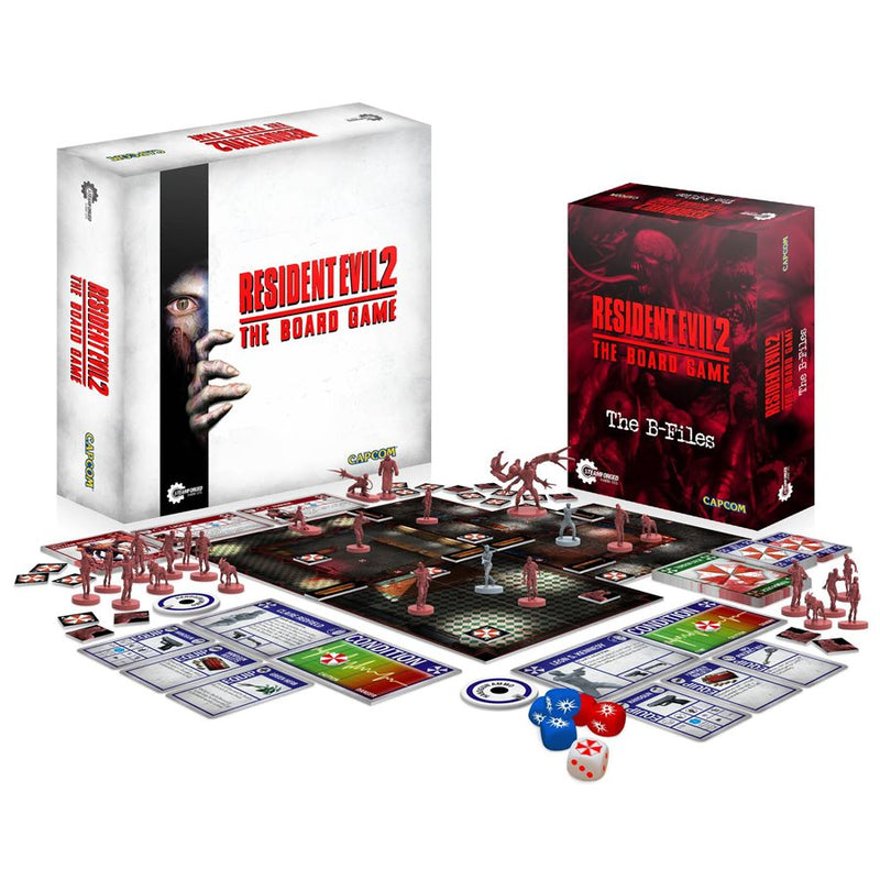 Resident Evil 2 The Board Game gameplay