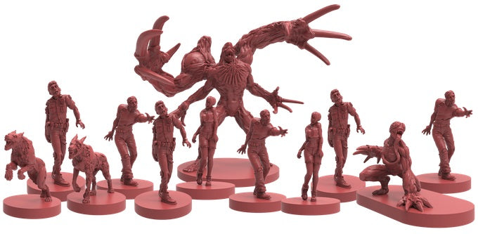 Resident Evil 2 The Board Game miniatures