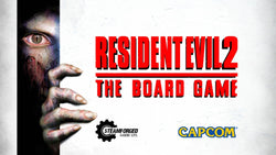 Resident Evil 2 The Board Game box