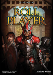 Roll Player board game solo dice game