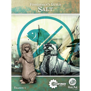 Salt mascot Fisherman's guild ball guildball mini miniature