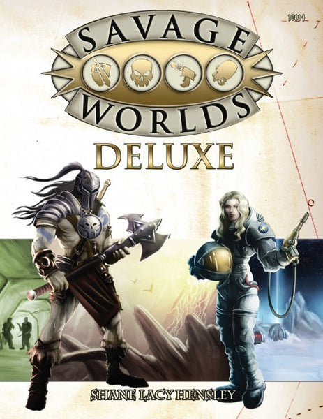 Savage Worlds Deluxe Core Rules: Explorer's Edition