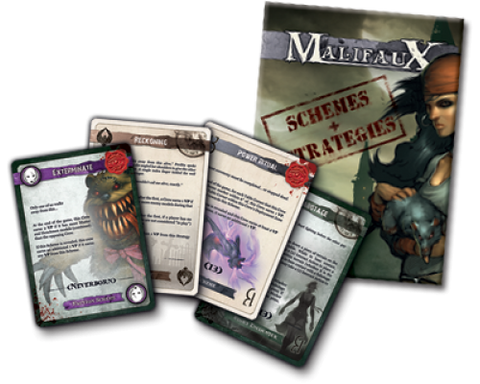 Malifaux 2E Schemes and Strategies second edition
