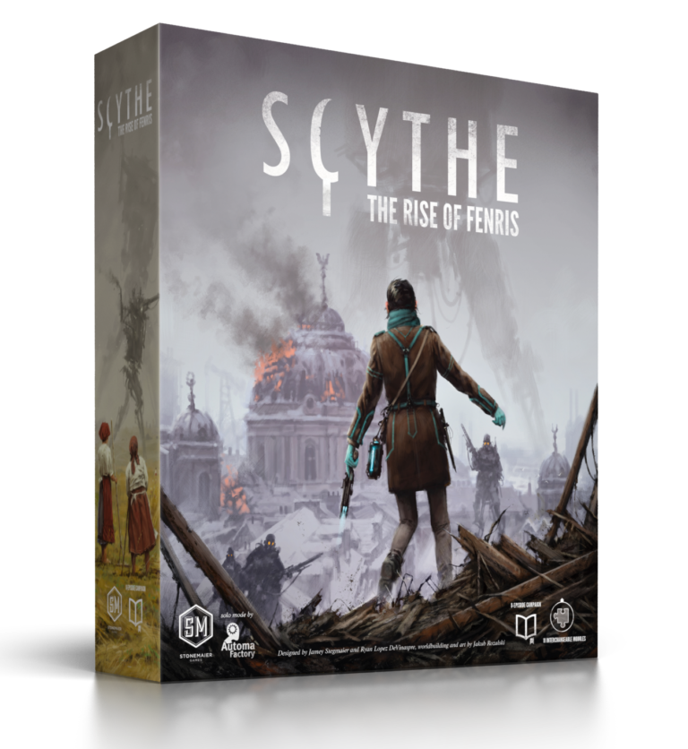 Scythe Rise of Fenris Expansion