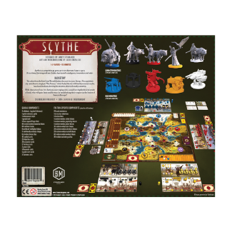 scythe base board game components