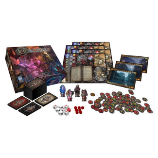 Sorcerer board game components
