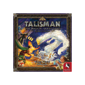 Talisman 4th edition The City board game box
