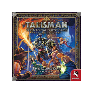 Talisman 4th edition The Dungeon board game box