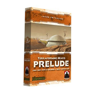 Terraforming Mars Board Game Expansion Prelude