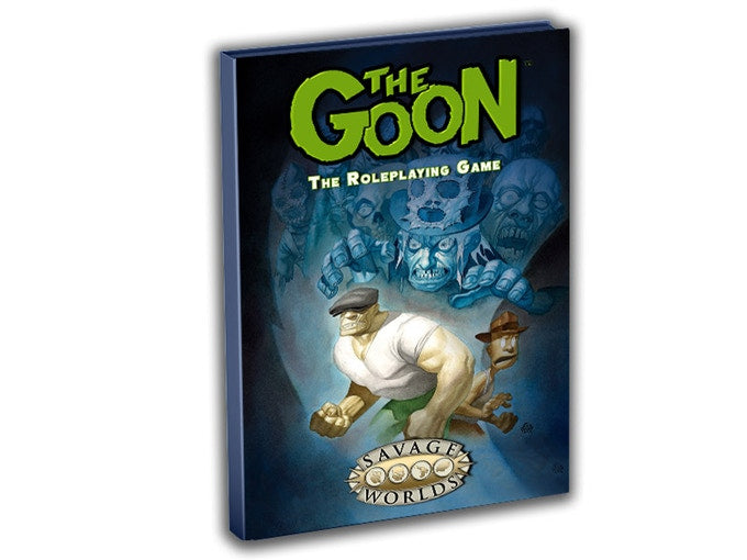 The Goon Savage Worlds Hardcover rulebook