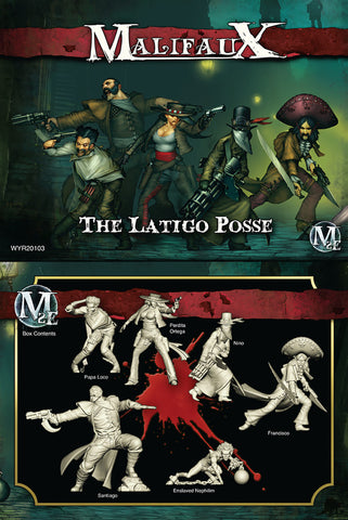 The Latigo Posse Perdita Ortega crew box the Guild Malifaux 2E second edition