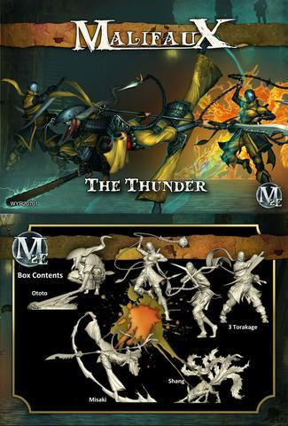 The Thunder Ten Thunders Misaki crew box Malifaux second edition 2e
