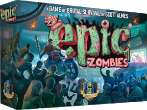 Tiny Epic Zombies kickstarter board game box
