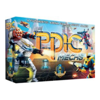 Tiny Epic Mechs board game box