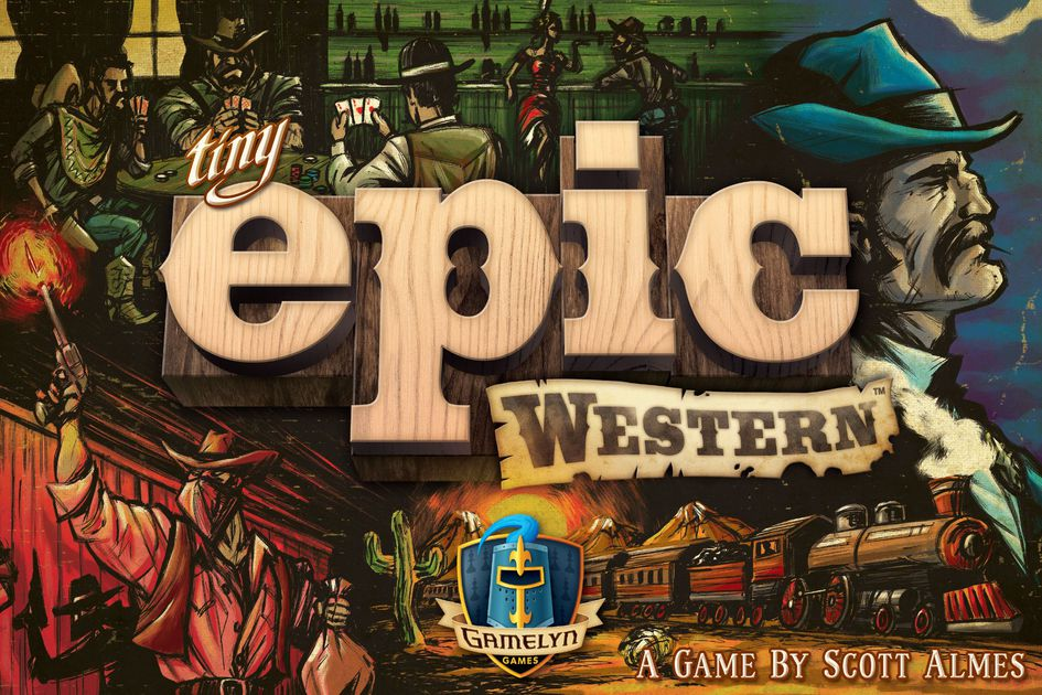 tiny epic western board game gamelyn games box