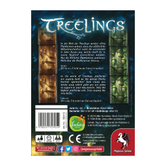 Treelings Board Game Back