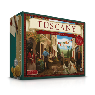 Viticulture Tuscany Expansion board game box