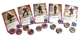 V-Commandos Triton Noir WW2 board game wargame cards