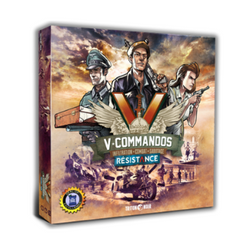 V-Commandos Resistance board game expansion
