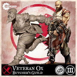 Veteran Ox - Butcher's Guild