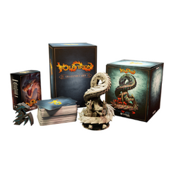 Volfyirion Kickstarter Card Game Collector box dragon mini