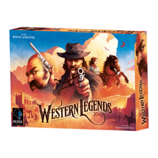 Western Legends base board game box