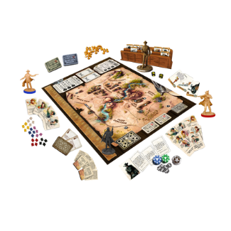 western legend board game gameplay