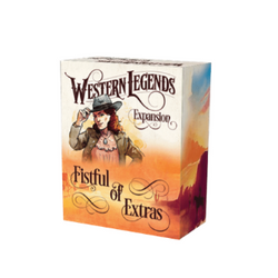 Western Legends A Fistful of Extras kickstarter box