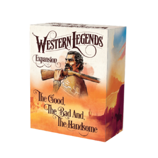 Western Legends The Good, The Bad and the Handsome box