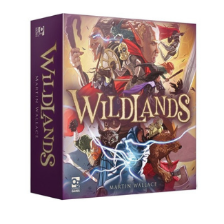 Wildlands board game box