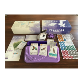 Wingspan European Expansion board game content