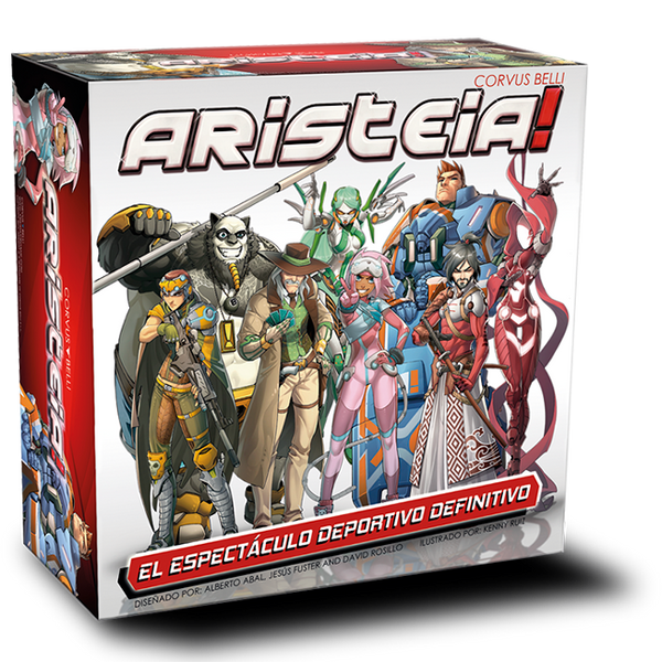 Aristeia! board game skirmish game miniatures